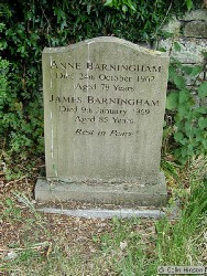Anne BARNINGHAM ; James